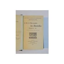 L'ART DE RECONNAITRE LES DENTELLES, GUIPURES ETC. OUVRAGE ORNE DE 197 GRAVURES  1924