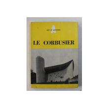 LE CORBUSIER par JEAN ALAZARD , 1956
