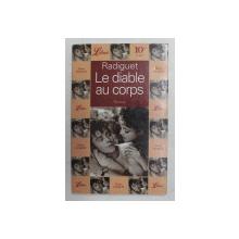 LE DIABLE AU CORPS par RAYMOND RADIGUET  - 1996