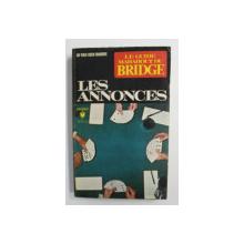 LE GUIDE MARABOUT DU BRIDGE - LES ANNONCES par JO VAN DEN BORRE , 1971