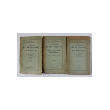 LE MONDE COMME VOLONTE ET COMME REPRESENTATION par ARTHUR SCHOPENHAUER , TOMES  I - III , 1924