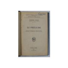 LE PRELUDE par THEODOR WOLFF , 1926
