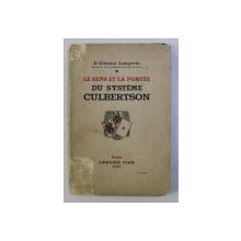 LE SENS ET LA PORTEE DU SYSTEME CULBERTSON par H. LANGEVIN , 1933