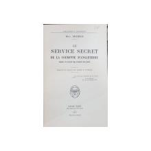 LE SERVICE SECRET de la Couronne d'Angletere by M.G. RICHINS - PARIS, 1935