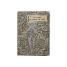 LE SPLEEN DE PARIS par CH. BAUDELAIRE , CARTE DE FORMAT MIC , EDITIE INTERBELICA
