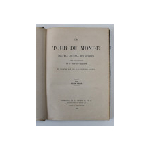 LE TOUR DU MONDE - NOUVEAU JOURNAL DES VOYAGES , DEUXIEME  SEMESTRE , 1863