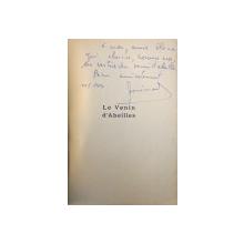 LE VENIN D ' ABEILLES par DOCTEUR JEAN  - PIERRE BONIMOND , 1951, DEDICATIE*