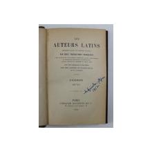 LEA AUTEURS LATINS PAR DEUX TRADUCTIONS FRANCAISES - CICERON - BRUTUS , EDITIE IN LATINA SI FRANCEZA , 1903