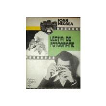LECTIA DE FOTOGRAFIE - IOAN NEGREA  1984