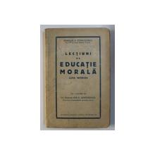 LECTIUNI DE EDUCATIE MORALA - CURS INFERIOR de ROMULUS A. STANCULSECU PREZINTA HALOURI DE APA*