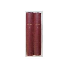LECTURA - FLOAREA LITERATURILOR STRAINE - COLEGAT DE PROZE SCURTE IN FASCICULE , DIVERSI AUTORI STRAINI , 2 VOLUME , EDITIE INTERBELICA