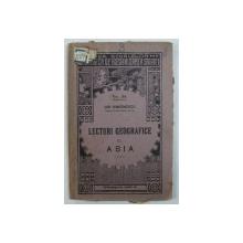 LECTURI GEOGRAFICE C. ASIA de ION SIMIONESCU , 1925