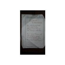 Legamant, Lui Mihai Eminescu, Grigore Vieru, manuscris original