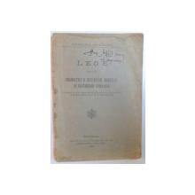 LEGE ASUPRA PRODUCTIEI SI DESFACERII SPIRTULUI SI BAUTURILOR SPIRTOASE  1930