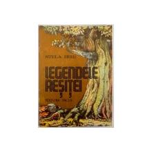 LEGENDELE RESITEI de STELA BRIE , ILUSTRATII de STEFAN POPA , 1982
