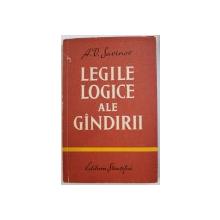LEGILE LOGICE ALE GANDIRII de A. V. SAVINOV , 1961