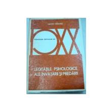 LEGITATILE PSIHOLOGICE ALE INVATATURII SI PREDARII-ZIEMOWIT WLODARSKI  1980