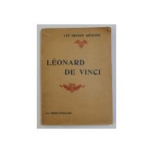 LEONARD DE VINCI par GABRIEL SEAILLES , 1920