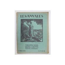 LES ANNALES POLITIQUES ET LITTERAIRES - GRANDE REVUE MODERNE DE LA VIE LITTERAIRE , 1 er MARS   1928