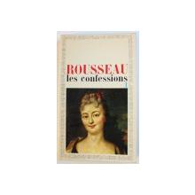 LES CONFESSIONS par ROUSSEAU , TOME I , 1968