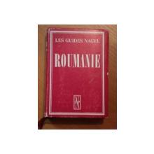 LES GUIDES NAGEL, ROUMANIE,  1966