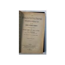 LES HALLUCINATIONS TELEPATHIQUES par GURNEY ...PODMORE , 1899
