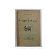 LES MEMOIRES D 'UN VEUF par PAUL VERLAINE , 1926