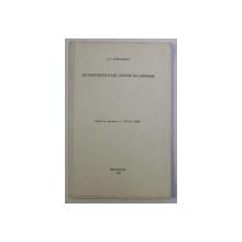 LES MONUMENTS D ' ART , SOURCES DE L ' HISTOIRE par J. D. STEFANESCU , 1966 *DEDICATIE