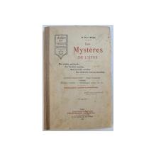 LES MYSTERES DE L ' ETRE  - SON ORIGINE SPIRITUELLE , SES FACULTES SECRETES , SES POUVOIR OCCULTES , SES DESTINEES FUTURES DEVOLILEES par ELY STAR , 1902, PREZINTA SUBLINIERI CU CREION COLORAT