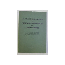LES ORGANISATIONS COOPERATIVES ET L ' INTERVENTION DES POUVOIRS PUBLICS DANS LE DOMAINE ECONOMIQUE , 1939