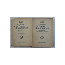 LES ORIGINES DE LA FRANCE CONTEMPORAINE VII - VIII   - LA REVOLUTION ,  LE GOUVERNEMENT REVOLUTIONNAIRE   , TOME  PREMIER  - TOME DEUXIEME par H. TAINE , EDITIE INTERBELICA