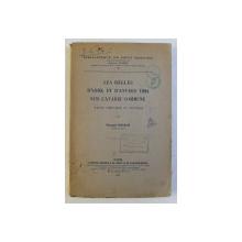 LES REGLES D ' YORK ET D ' ANVERS 1924 SUR L ' AVARIE COMMUNE , ETUDE THEORIQUE ET PRATIQUE par FERNAND SCHAUB , 1933