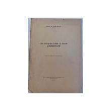 LES SOURCES DANS LE DROIT ADMINISTRATIF par RADU M . GORUNEANU , 1935