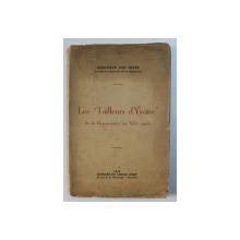 """LES '' TAILLEURS D ' YVOIRE """" DE LA RENAISSANCE AU XIXe SIECLE par GENEVIEVE VEN BEVER , 1976"""