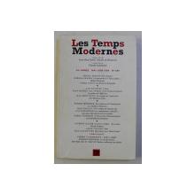 LES TEMPS MODERNES  - REVUE BITRIMESTRIELLE , NO . 599 , MAIN - JUNE , 1998