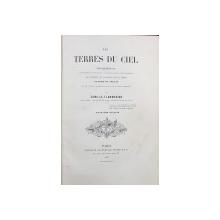 LES TERRES DU CIEL par CAMILLE FLAMMARION - PARIS, 1877