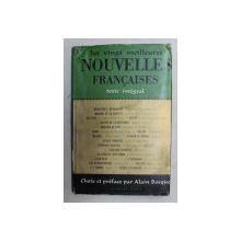 LES VINGT MEILLEURS NOUVELLES  FRANCAISES  - TEXTE INTEGRAL , 1956