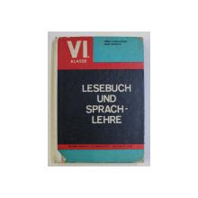 LESEBUCH UND SPRACHLEHRE - VI. KLASEE von GERDA CERNAUTEAN und ANNE ROHRICH , 1970