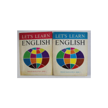 LET 'S LEARN ENGLISH by AUDREY L. WRIGHT and JAMES H. McGILLIVRAY , TWO BOOKS , 1971