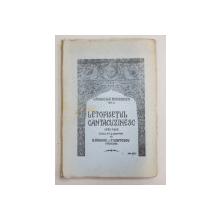 LETOPISETUL CANTACUZINESC 1290 - 1688 , publicat si adnotat de N. SIMACHE si T. CRISTESCU , SERIA CRONICILE ROMANESTI , VOL. II , 1942