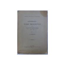 LETOPISETUL TARII MOLDOVEI DE LA ISTRATIE DABIJA PANA LA DOMNIA A DOUA A LUI ANTIOH CANTEMIR de C. GIURESCU  BUCURESTI 1913