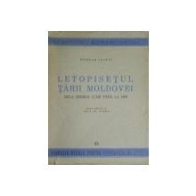 LETOPISETUL TARII MOLDOVEI DE LA ZIDIREA LUMII PANA LA 1601  - NICOLAE COSTIN