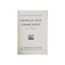 L'HOME DE CHAIR ET L'HOMME REFLET par MAX JACOB - PARIS, 1924