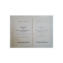 LIEDURI DIN CREATIA CONTEMPORANA ROMANEASCA, VOL I-II  2000