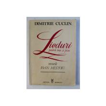 LIEDURI PENTRU VOCE SI PIAN de DIMITRIE CUCLIN , versurile de IOAN MEITOIU , 1985 , DEDICATIE*