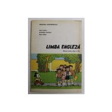 LIMBA ENGLEZA , MANUAL PENTRU CLASA A III - A de ANA ILIESCU ... ANA IONICI , 1991