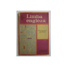 LIMBA ENGLEZA - MANUAL PENTRU CLASA a IX - a (ANUL V DE STUDIU) de COLECTIV , 1969