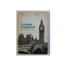 LIMBA ENGLEZA - MANUAL PENTRU CLASA A XI -A ( ANUL VII DE STUDIU ) de SUSANA DORR ...ANCA TANASESCU , 1979