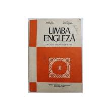 LIMBA ENGLEZA  - MANUAL PENTRU CLASA  A XI - A( ANUL VII DE STUDIU ) de SUSANA DORR ..RADU SURDULESCU , 1984