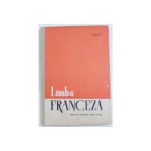 LIMBA FRANCEZA MANUAL PENTRU CLASA A VII -A de MARCEL SARAS , 1965